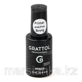 Primer acid-free Strong Grattol (бескислотный праймер), 9мл