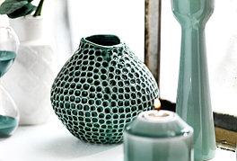 Цветные вазы