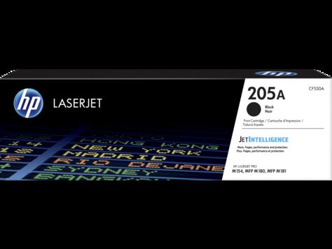 HP CF530A Картридж лазерный HP 205A, черный, ресурс 1100 стр