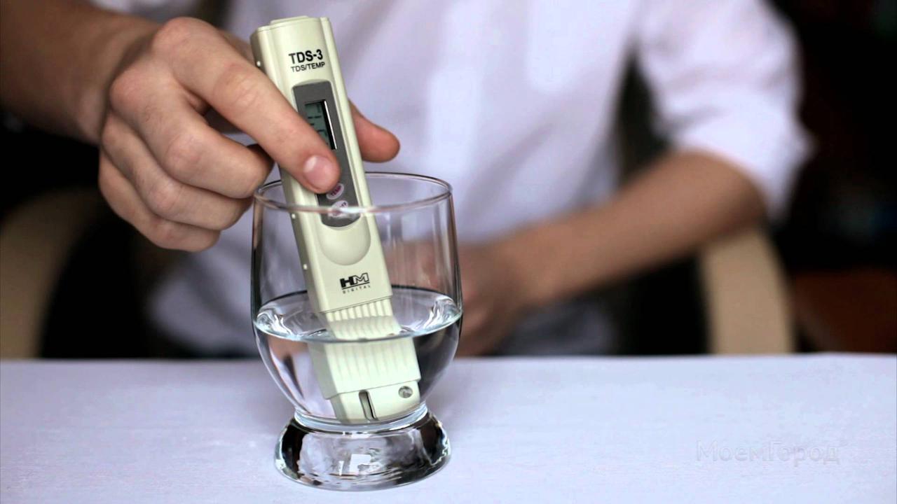 TDS Meter 3 Солемер - анализатор качества воды, с чехлом,