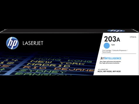 HP CF541A Картридж лазерный HP 203A, голубой, ресурс 1400 стр