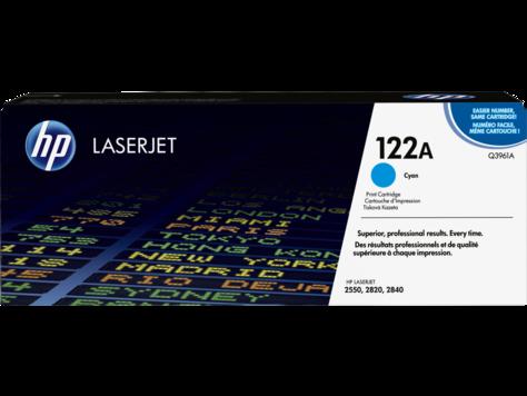 HP Q3961A Картридж лазерный HP 122A, Голубой, ресурс 4000 стр