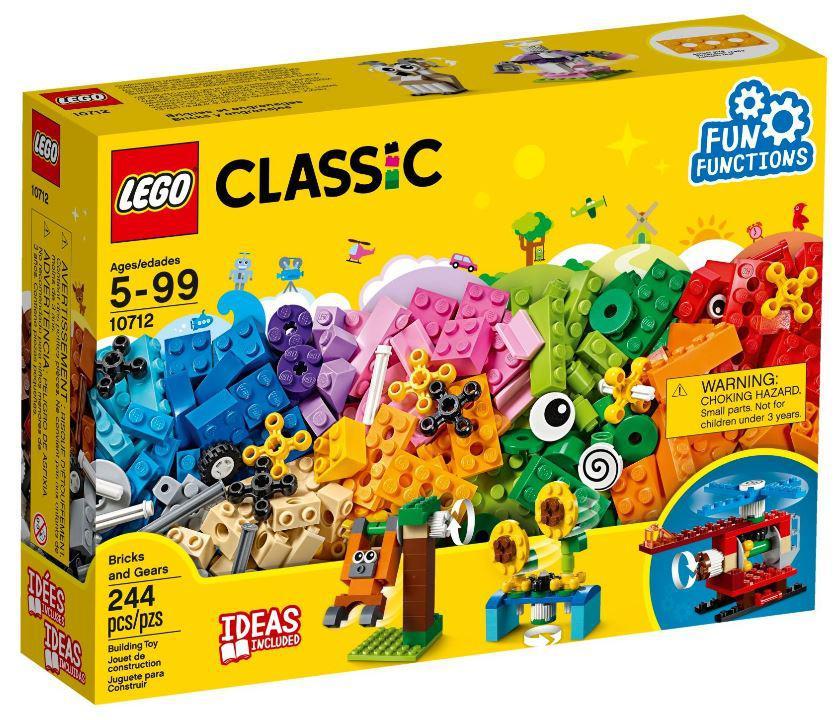 """10712 Lego Classic Набор """"Кубики и механизмы"""", Лего Классик"""