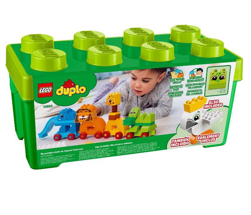 10863 Lego DUPLO My First Мой первый парад животных, Лего Дупло
