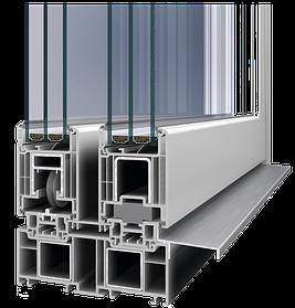 Система подъёмно-сдвижных дверей HST-76 HS-Portal