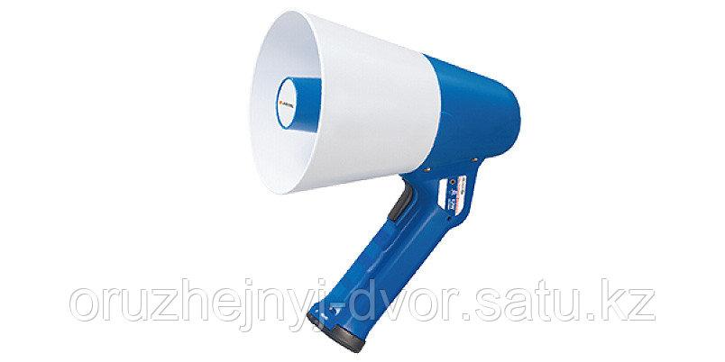 "Мегафон ""Арстел"" AT-M112ABC ручной микрофон встроен 12 Вт, 12В сигналы ""Свисток"" и ""Сирена"""