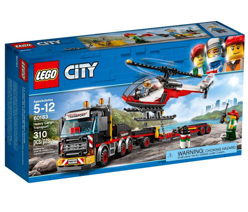 60183 Lego City Перевозчик вертолета, Лего Город Сити
