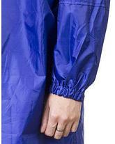 Плащ - дождевик ЗУБР 11615, ПРОФЕССИОНАЛ, материал - влагостойкий нейлон, универсальный размер, синий цвет, фото 3