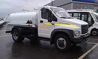 Молоковоз на базе Газон-Next с двухсекционной цистерной и емкостью 4200 л.
