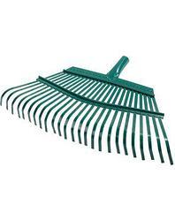 Грабли веерные RACO 4231-53/738, 25 плоских зубцов, эпоксидное покрытие, 450 мм