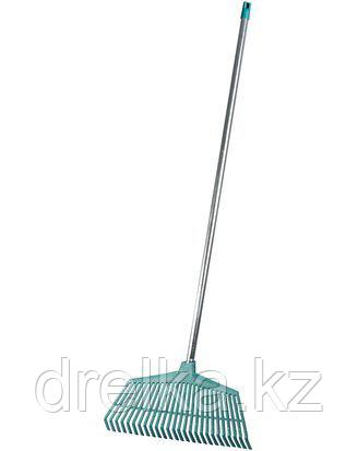 Грабли веерные RACO 4231-53/746, со стальной ручкой, 26 пластмассовых зубцов, 430 мм