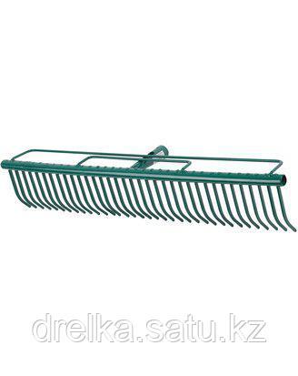 Грабли прямые RACO 4228-53750, для очистки газонов, 35 зубцов, 600 мм