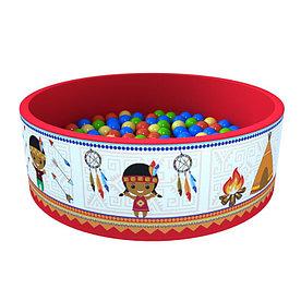 Сухой бассейн с шариками Индейцы
