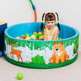 Сухой бассейн с шариками Зверята