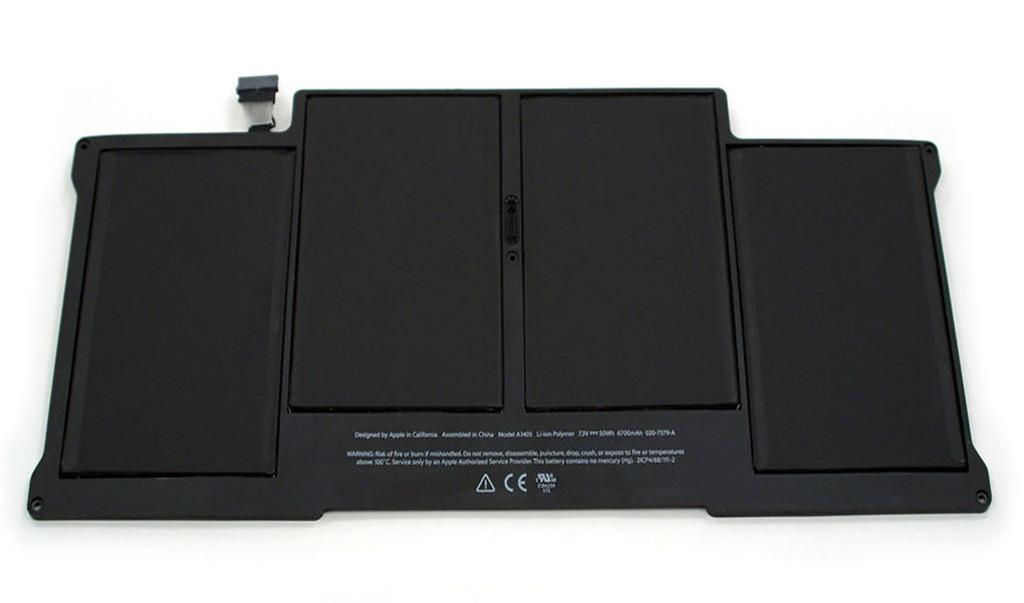 Аккумулятор для Apple Macbook Air 13 A1405 7.3V 6700 mAh (аналог)