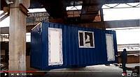 Пост охраны на базе 20 футового контейнера