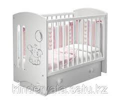 Детская кроватка софи 3 слоник можга мебель