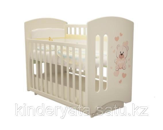 Детская кроватка софи 3 мишка  можга мебель