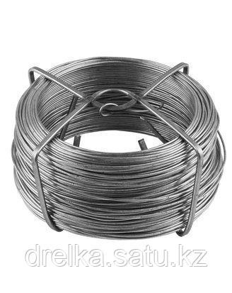 Проволока RACO подвязочная стальная оцинкованная, 50м, 42359-53645H , фото 2