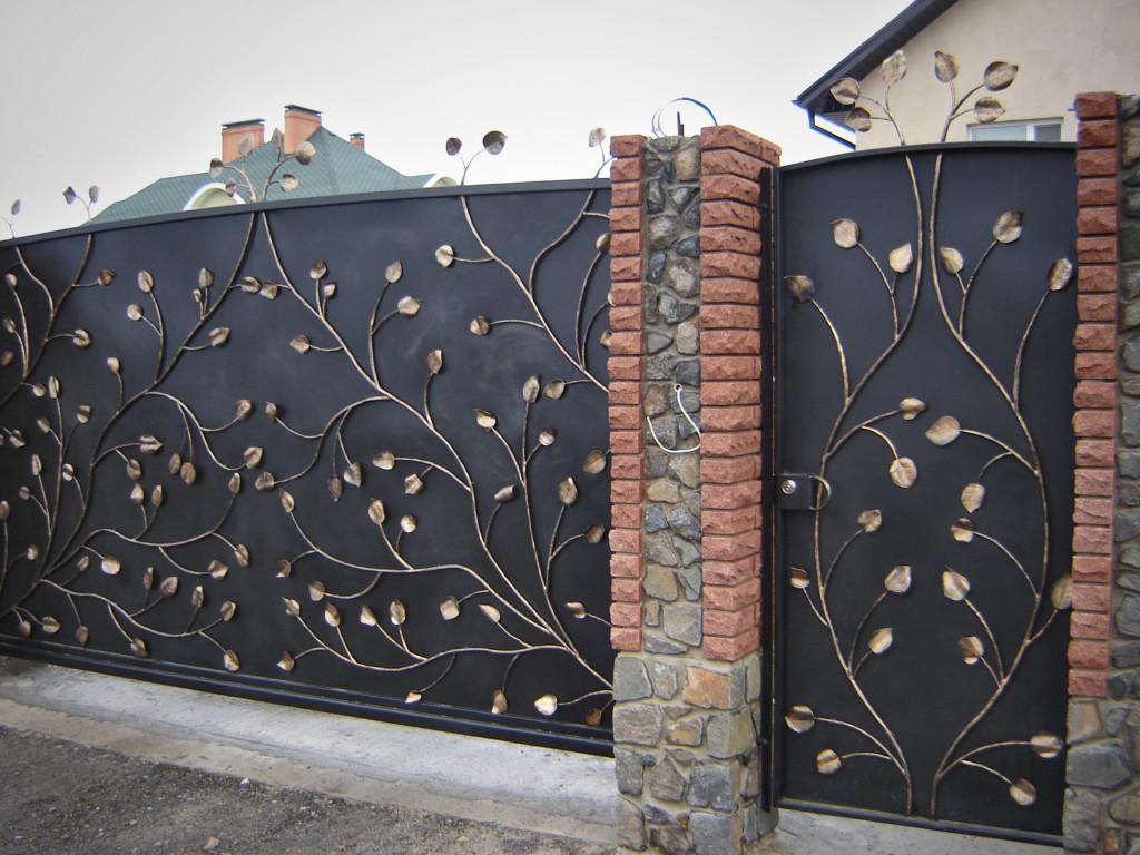 Ворота ажурные