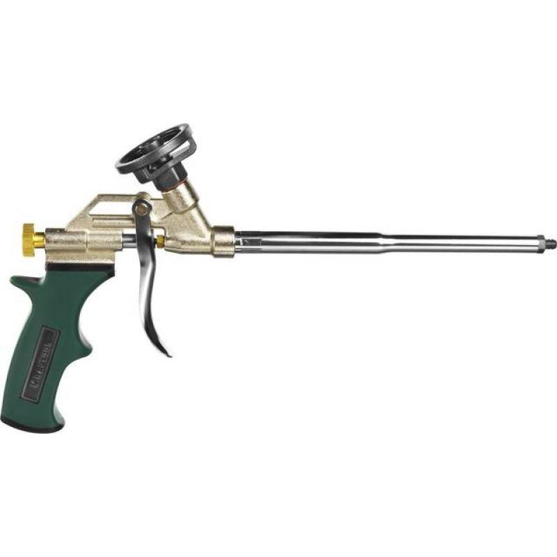 """(0685_z03) Пистолет KRAFTOOL """"EXPERT"""" """"PROKRAFT"""" для монтажной пены, тефлоновое покрытие"""