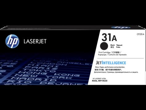 HP CF231A HP 31A Оригинальный лазерный картридж LaserJet, Черный