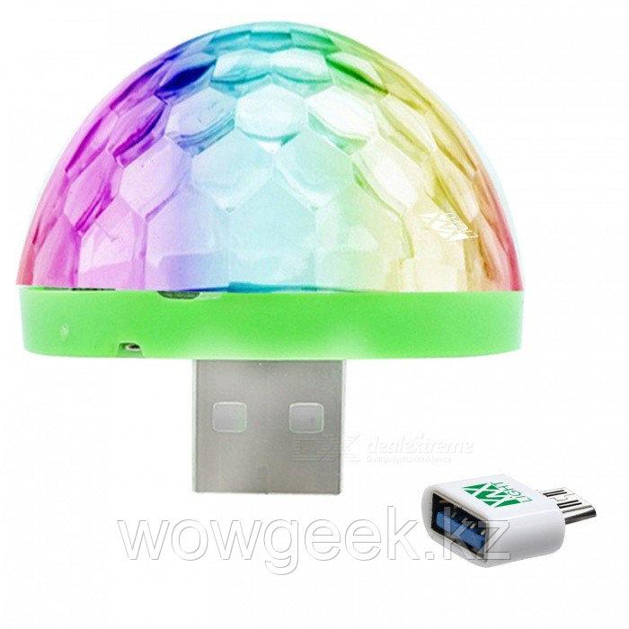 USB цветомузыка для телефона