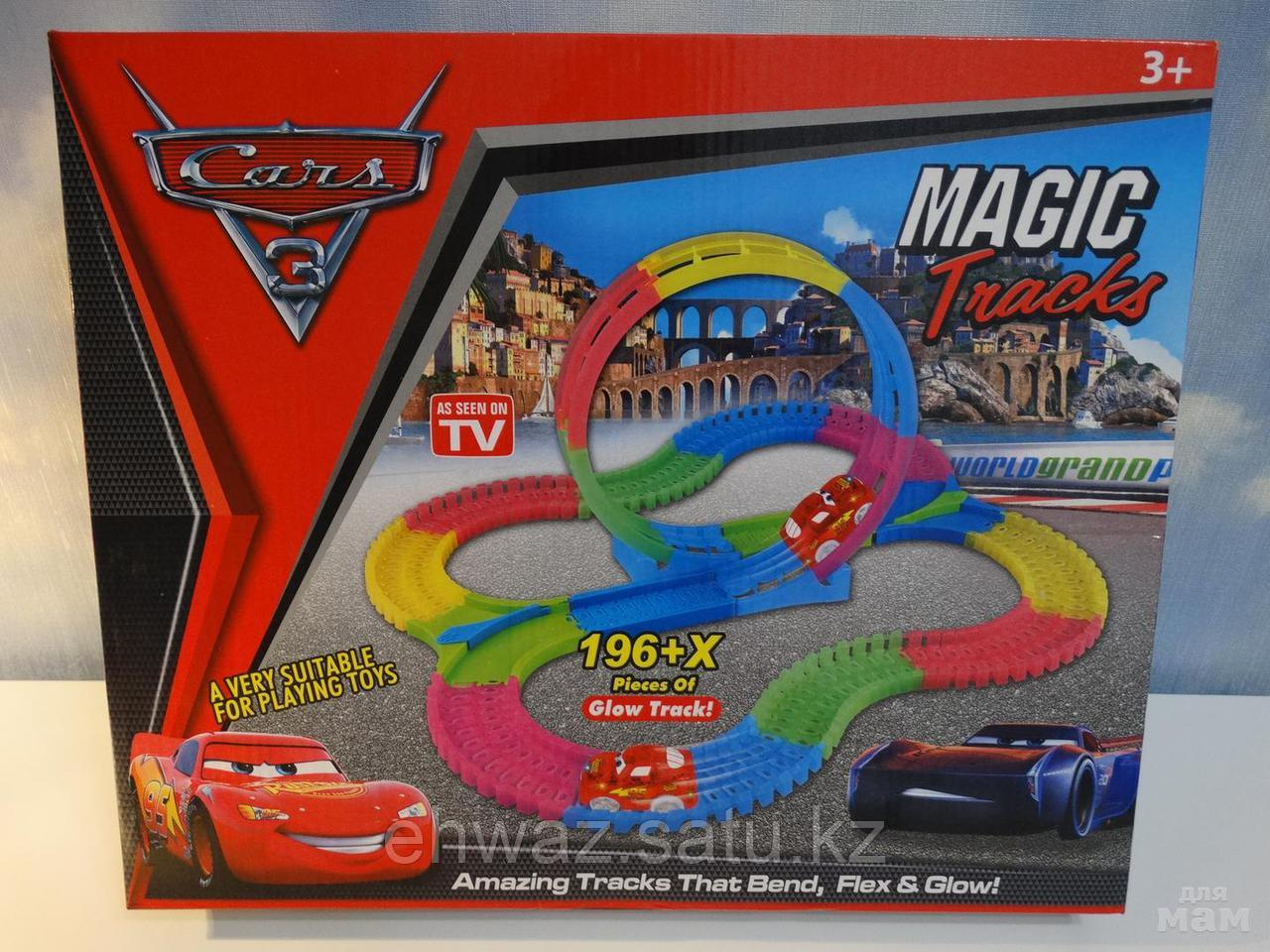 Magic Tracks Тачки 196 деталей с мертвой петлей