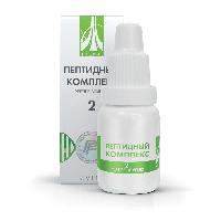 Пептидный комплекс-2 для центральной и периферической нервной системы. Натуральный.