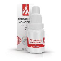 Пептидный комплекс-7 для поджелудочной железы. Натуральный.
