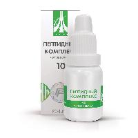Пептидный комплекс-10 для женской половой системы. Натуральный.