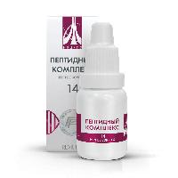 Пептидный комплекс-14 для вен. Натуральный.