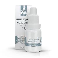 Пептидный комплекс-18 для слухового анализатора. Натуральный.