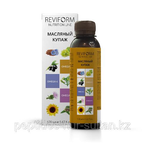 Масляный купаж РЕВИФОРМ - Омега-3, 6, 9