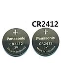 Батарейка литиевая Panasonic CR2412   3v, фото 2
