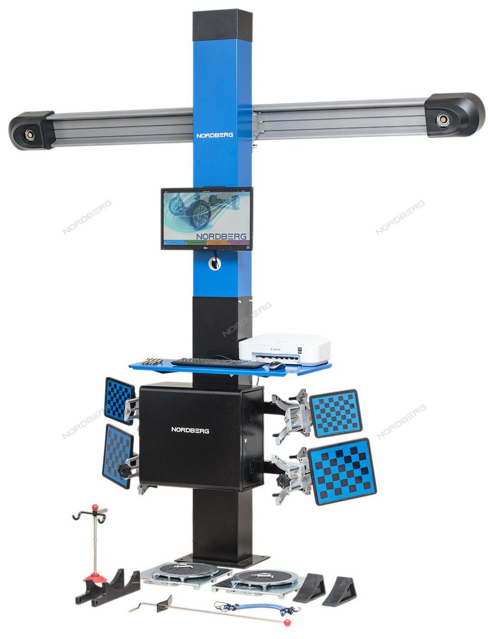 СТЕНД СХОД-РАЗВАЛ 3D модель четырехкамерный NORDBERG C804