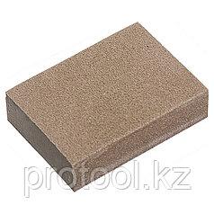 Губка для шлифования, 100 х 70 х 25 мм, мягкая, 3 шт., P 60/80, P 60/100, P 80/120// MATRIX
