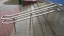 Перила лестничного огражения из нержавеющей стали