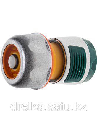 Соединитель RACO Profi-Plus (шланг-насадка) с автостопом, усиленный пластик, 3/4, 4247-55100B