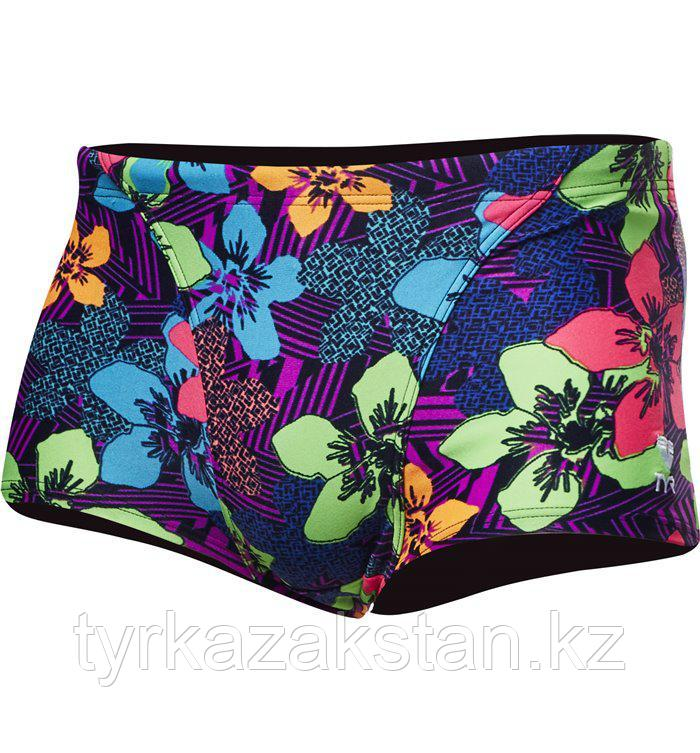 Плавки-шорты TYR Ohana All Over Trunk цвет 510 Фиолетовый размер 30