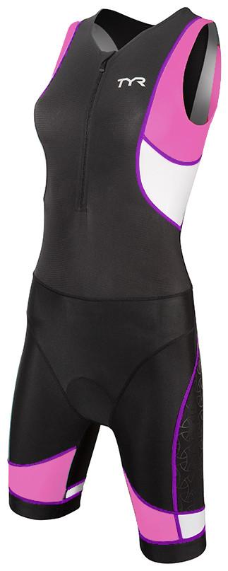 Стартовый костюм женский TYR Competitor Tri Suit Front Zip