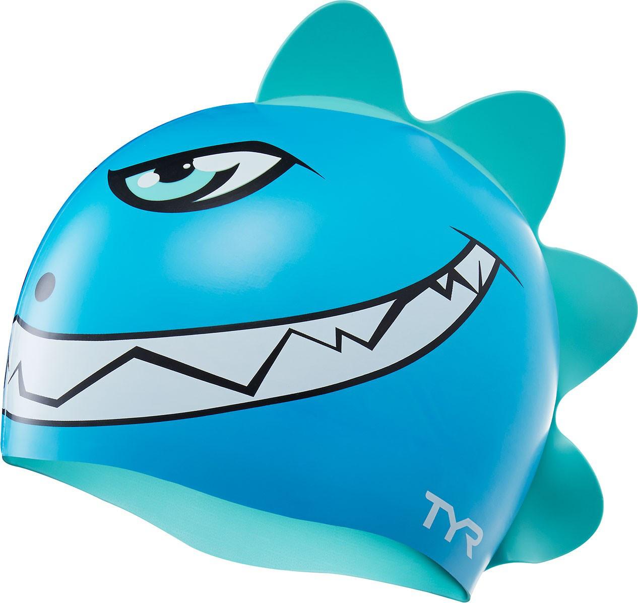 Шапочка для плавания детская TYR Characters Dino Destroyer Cap