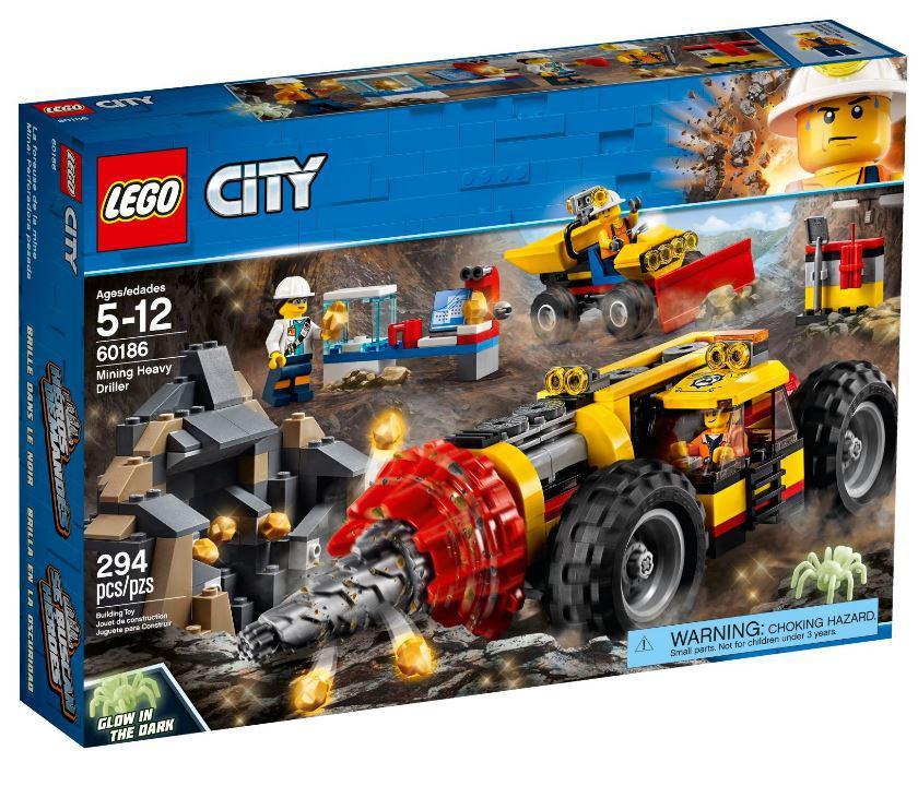 60186 Lego City Тяжелый бур для горных работ, Лего Город Сити