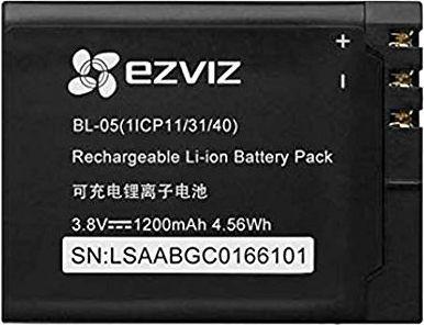 Battery 5P - Дополнительная батарея для Экшн камеры Ezviz S5 Plus.