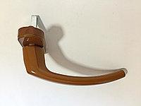 Оконная ручка алюминий коричневая