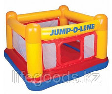 Надувной игровой центр - батут Jump-O-Lene 174х174х112 см, Intex 48260, фото 2