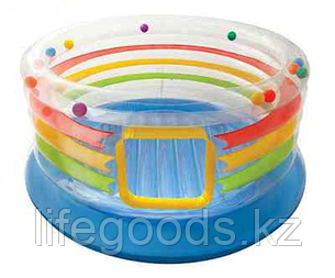 Детский надувной батут круглый 182х86см, Intex 48264, фото 2