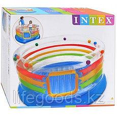 Детский надувной батут круглый 182х86см, Intex 48264, фото 3