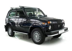 Защита переднего бампера d57 Lada 4х4 3d 1995-