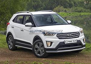 Защита переднего бампера d57 Hyundai Creta 2016-